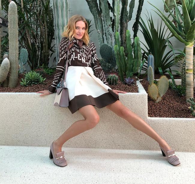 Natalia là chân dài nổi tiếng nhất nước Nga.