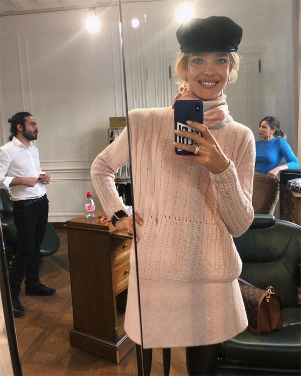 Bức ảnh gây bối rối của Natalia Vodianova.