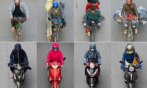 Bộ ảnh tả thực đời sống xe máy ở Hà Nội