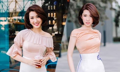 Thúy Ngân biến hóa phong cách cùng trang phục đi tiệc