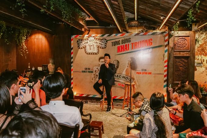 Phạm Quỳnh Anh và Hamlet Trương cho biết đây không chỉ là buổi gặp gỡ hiếm hoi mà còn là một trải nghiệm biểu diễn thú vị, độc đáo của họ.