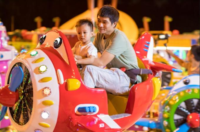 Công viên với diện tích 3.000m2. Các trò chơi phù hợp với nhiều lứa tuổi như trẻ em, thanh thiếu niên, người lớn...