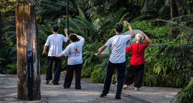 Công viên rèn luyện sức khỏe tại Singapore.