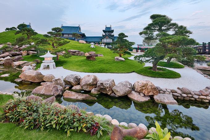 Vườn Nhật sẽ cho các bạn trẻ những bức ảnh sống ảo tuyệt đẹp.