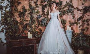4 bí kíp chọn váy cưới cho cô dâu dáng quả lê