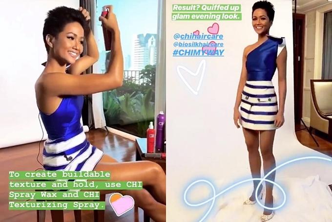 HHen Niê diện áo dài đi chơi thuyền cùng thí sinh Miss Universe - 7