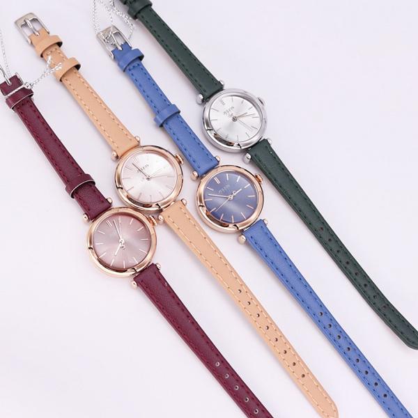 Những cô nàng thích thay đổi phong cách có thể mua trọn bộ đồng hồ nữ JA-1018 Julius Hàn Quốc dây da 5 màu cá tính với giá ưu đãi 499.000 đồng một mỗi chiếc.