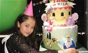 'Mẫu nhí gốc Hàn xinh nhất thế giới' đón sinh nhật tuổi lên 11