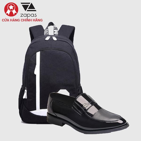 Một đôi giày lười ZAPAS màu đen dễ kết hợp với nhiều set đồ giúp các chàng trai thêm lịch lãm và tự tin khi ra ngoài. Mẫu giày lười GT004 của ZAPAS có giá ưu đãi còn 219.000 đồng.