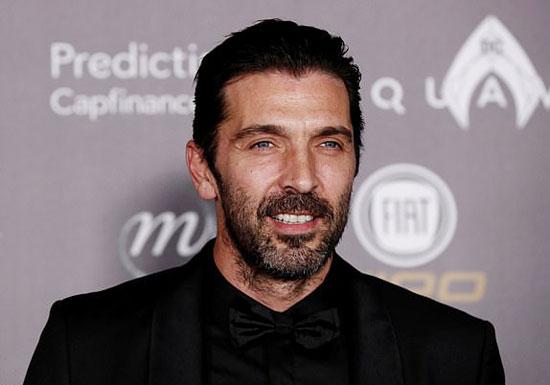 Cựu thủ môn Juventus, Buffon,