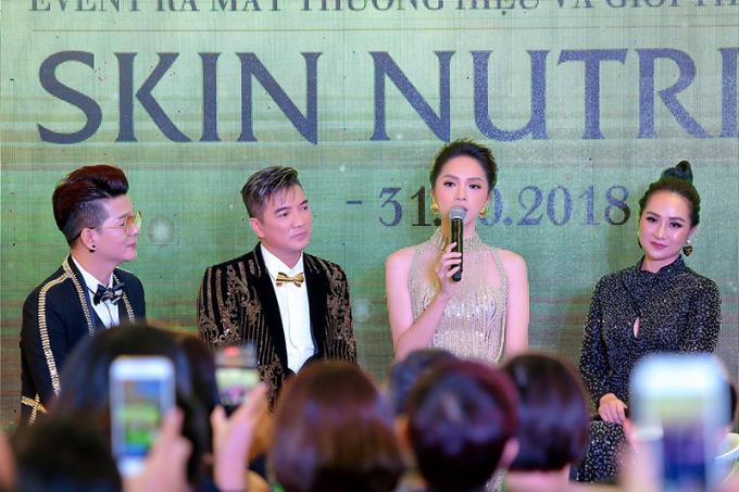 Đàm Vĩnh Hưng, Hương Giang hội ngộ tại sự kiện ra mắt mỹ phẩm Skin Nutrient - 4
