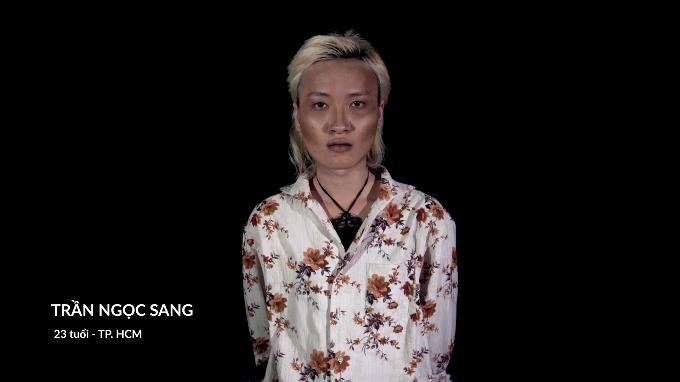 Trần Ngọc Sang trước khi phẫu thuật.