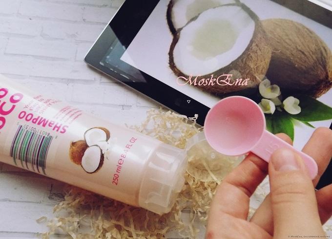 Dầu gội dưỡng chất tinh dầu dừa CoCo LoCo Leestafford 250ml - Trắng