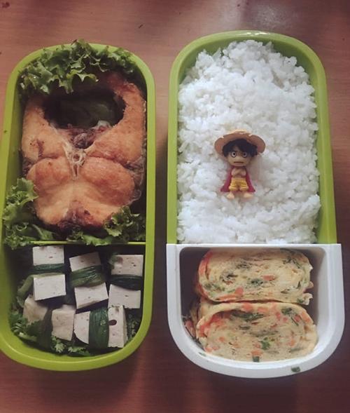 Chồng Thùy không thích ăn canh nên cô chỉ chuẩn bị các món kho, xào.
