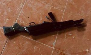 Nam thanh niên xả súng ở sảnh chùa Thái Nguyên