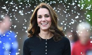 Kate rạng rỡ sau tin đồn mâu thuẫn với Meghan