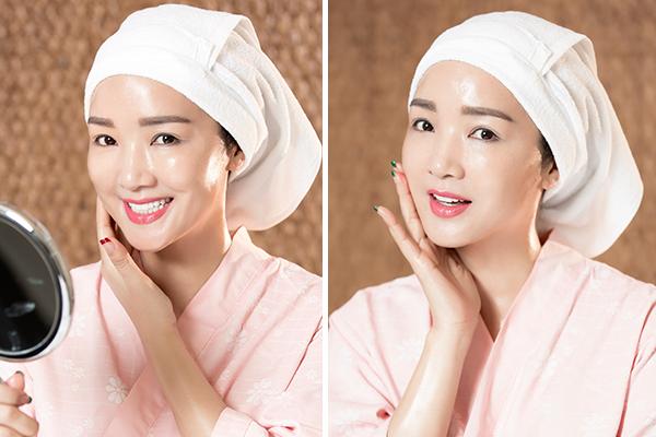 Trẻ hóa da mỗi năm một lần là phương pháp Giáng Mygiữ vẻ đẹp không tuổi.
