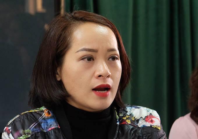 Bà Ngô Thanh Tâm, mẹ của học sinh Phong bị tát, tha thứ cho cô giáo và muốn cô có cơ hội được sửa sai.