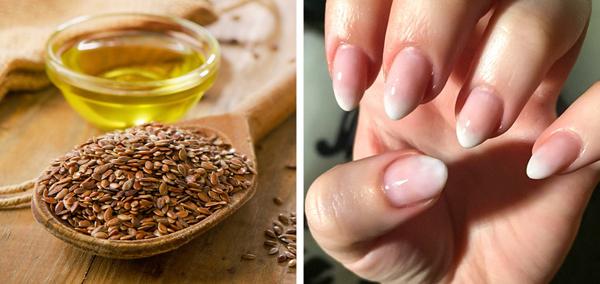 Dầu hạnh lạnh chứa nhiều axit béo, khoáng chất và các chất chống oxy hóa, thúc đẩy móng phát triển chắc khỏe. Dùng dầu hạt lạnh thoa lên móng tay, massage nhẹ nhàng trong vài phút.