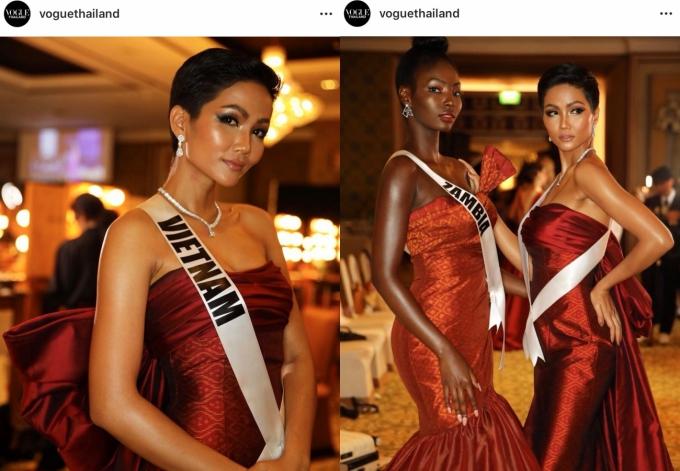 HHen Niê lộ miếng dán ngực khi trình diễn tại Miss Universe - 4