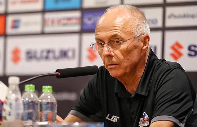 HLV Eriksson: Việt Nam là đội mạnh nhất giải