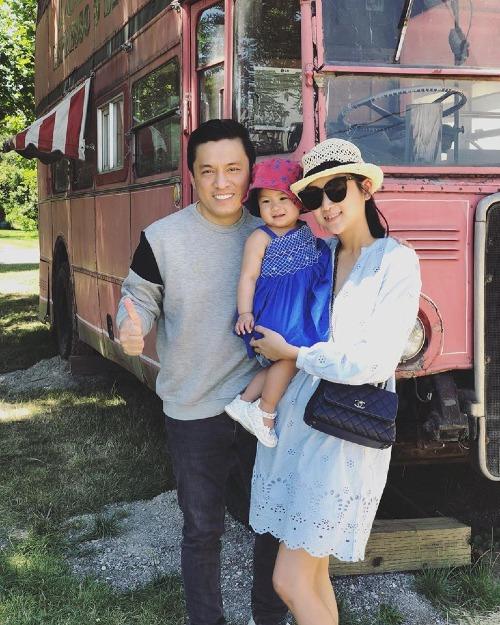 Gia đình ca sĩ Lam Trường đang sống bên Mỹ.