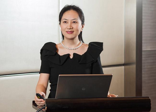 Bà Meng Wanzhou là con gái đầu của nhà sáng lập Huawei Ren Zhengfei và người vợ đầu Meng Jun. Ảnh: Huawei.