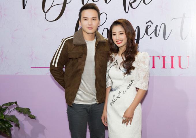 Ca sĩ Khắc Minh mừng Thu Hằng có bước tiến mới trong sự nghiệp âm nhạc.