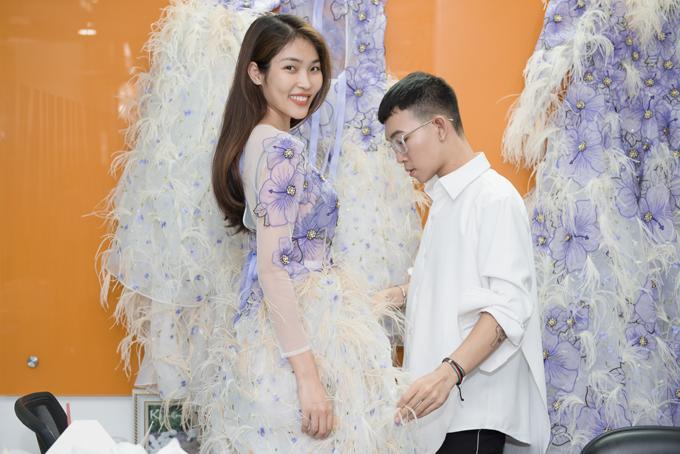Bella Hoàng Vũ - Á hậu 2 Miss Supranational Vietnam 2018 hào hứng khi được tham dự show diễn thời trang tổ chức tại TP Đà Lạt.