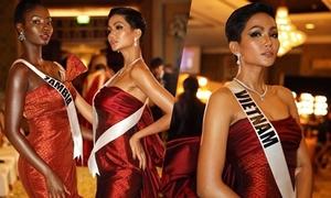 H'Hen Niê bị 'soi' tiếng Anh khi giao lưu tạp chí Vogue Thái Lan