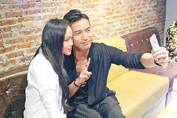 Huỳnh Tử Hằng và cô gái tên Michelle.