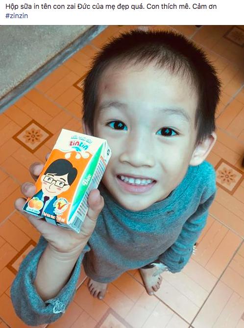 Các mẹ rần rần truy tìm hộp sữa in tên con mình