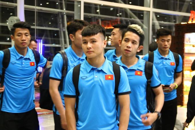 Tuyển Việt Nam được ưu tiên khi đặt chân đến Malaysia