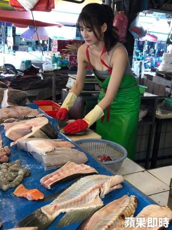 Cô gái bán cá nóng bỏng nhất Đài Loan - 1