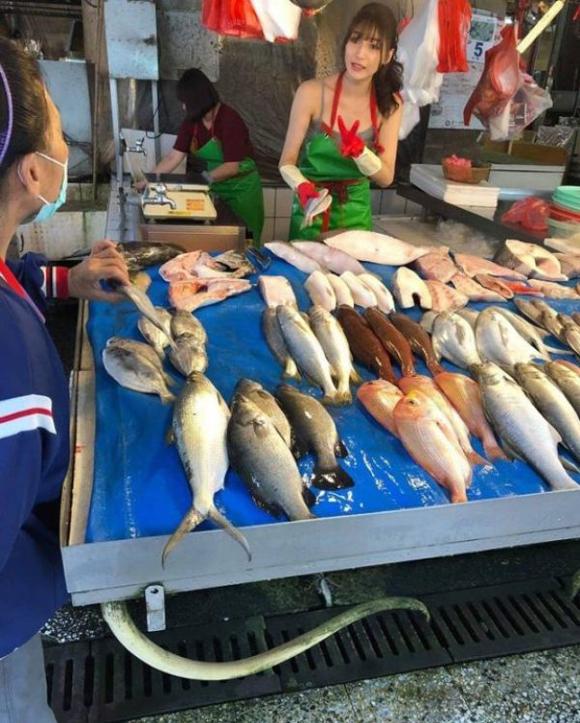Cô gái bán cá nóng bỏng nhất Đài Loan - 2