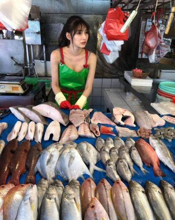 Cô gái bán cá nóng bỏng nhất Đài Loan - 3