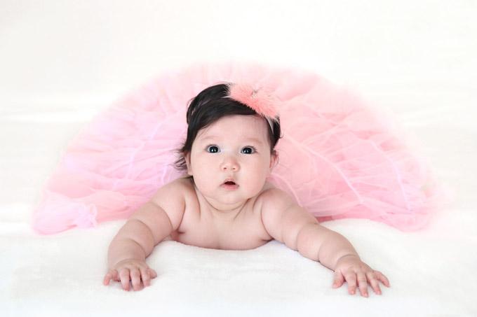 Được bố mẹ lập cho Fanpage trên mạng xã hội, mỗi khoảnh khắc của Myla thu hút rất nhiều lượt like và bình luận. Hiện Fanpage của cô bé có hơn 6.000 người theo dõi.