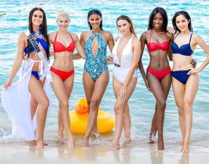 So với các cuộc thi sắc đẹp khác, Miss Universe thường quy tụ những thí sinh nóng bỏng nhất.
