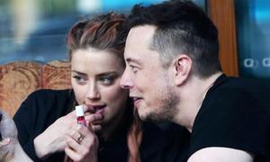 Amber Heard vẫn thân thiết với tỷ phú Elon Musk dù chia tay