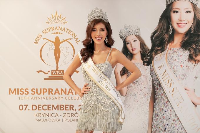 Minh Tú được trao giải Hoa hậu châu Á tại Miss Supranational - 1