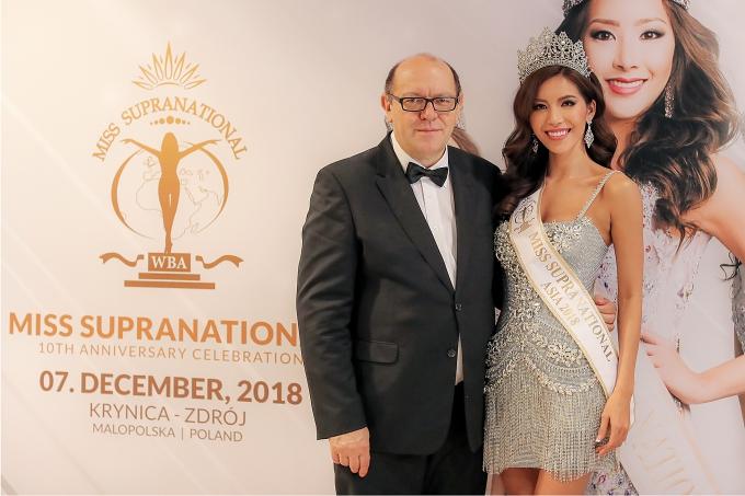 Minh Tú được trao giải Hoa hậu châu Á tại Miss Supranational - 2