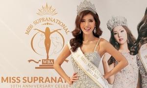 Minh Tú được trao giải Hoa hậu châu Á tại Miss Supranational