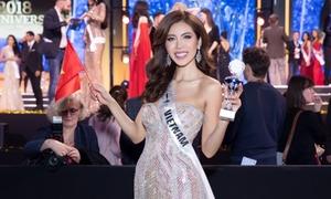 Minh Tú khóc xin lỗi khán giả khi chỉ vào top 10 Miss Supranational