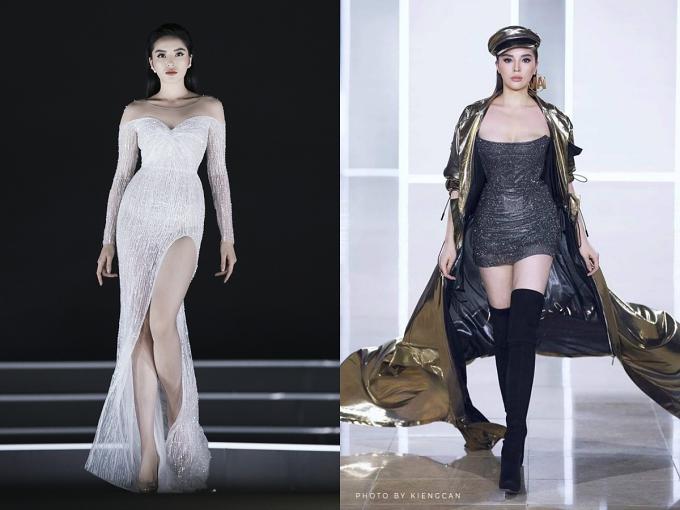 Hiện Kỳ Duyên lấn sân lĩnh vực người mẫu thời trang và trở thành cái tên hàng đầu trong các sự kiện thời trang uy tín bởi kỹ năng catwalk lẫn phong thái chuyên nghiệp.