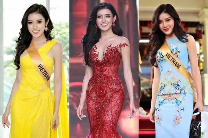 Năm 2017, Huyền My trở thành đại diện chủ nhà Việt Nam tham gia Hoa hậu Hòa bình Quốc tế và vào top 10 chung cuộc.