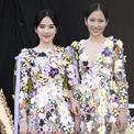 Nam Em và chị song sinh thân thiết trong event ở Đà Lạt