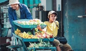 Sao nhí 'Gạo nếp gạo tẻ' toả sáng khi đóng phim mới cùng Huỳnh Đông