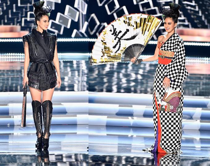 Trang phục giành chiến thắng tại Miss Universe 2017.
