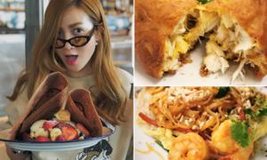 Yến Trang - Yến Nhi xếp hàng 'dài cổ' 4 tiếng để ăn đặc sản Thái Lan