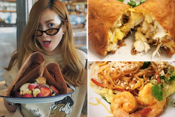 Yến Trang - Yến Nhi xếp hàng dài cổ 4 tiếng để ăn đặc sản Thái Lan